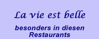 Restaurants in Paris
